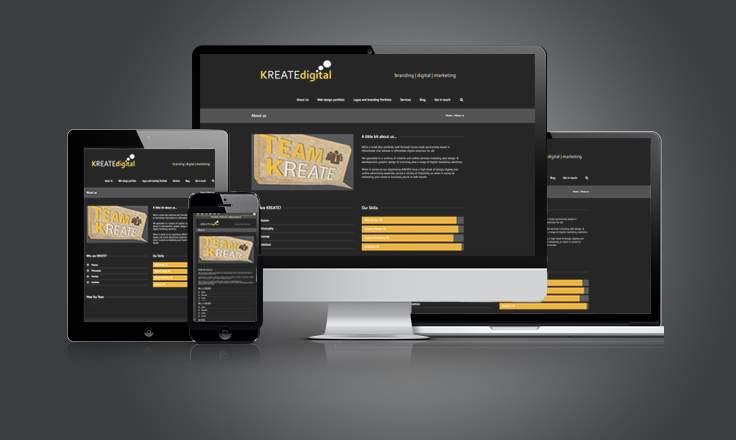 kreatedigital solutions de webdesign